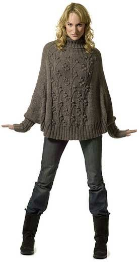 Knitting Pattern For Cape With Sleeves : ??????? ????? - ??????? ????