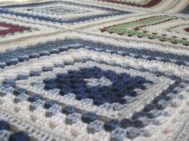 Giant Granny Square Free Crochet Pattern With Chart