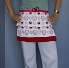 Simple Tea Towel Apron