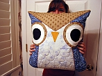 Owl Pillow от liebschien
