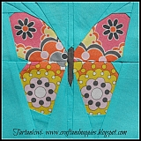 Small Paper Pieced Butterfly